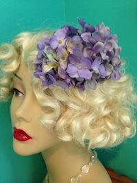 Belle's Hydrangea Side Comb
