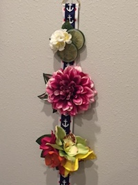 Hair Flower Clip Ribbon Hanger
