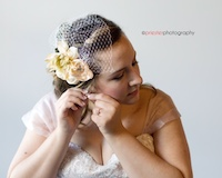 Aubree Wedding Fascinator