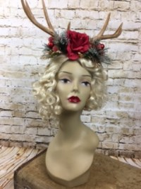 Robin Winter Deer Antler Headband