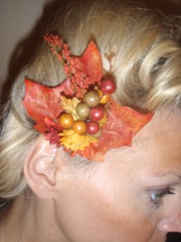 Autumn Leaves Fascinator