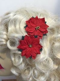 Paulette Poinsettia Bobbies