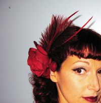 """Gypsy Rose' Fascinator"